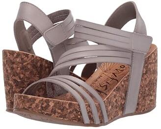 Blowfish Helm (Ash Dyecut) Women's Wedge Shoes