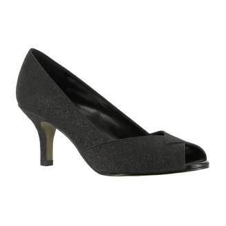 Easy Street Shoes Womens Ravish Pumps Peep Toe Kitten Heel