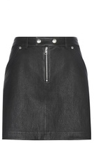 Calvin Klein Jeans Exclusive To Mytheresa.com – Leather And Suede Miniskirt