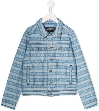 Balmain Kids denim jacket