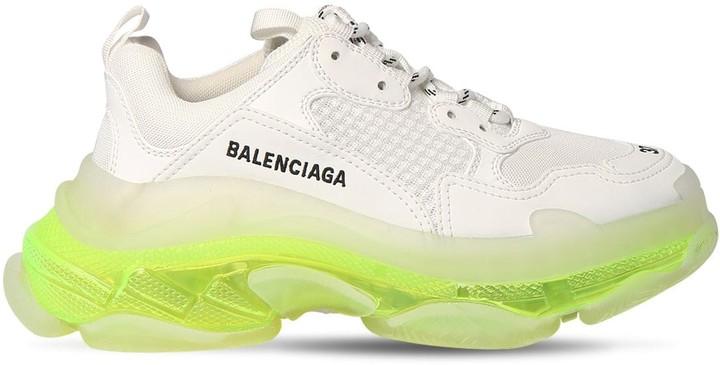 Balenciaga 60mm Triple S Clear Sneakers