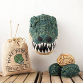 Your Own Sincerely Louise Make Faux Dinosaur Knitting Kit T Rex