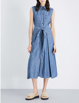 See by Chloe Self-tie denim dress