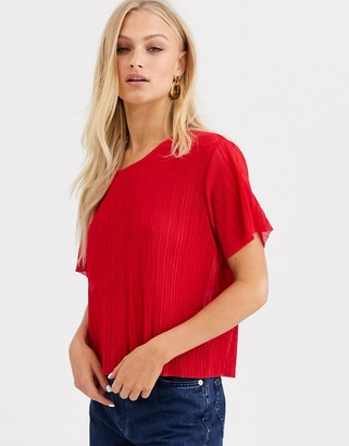Monki round neck t-shirt