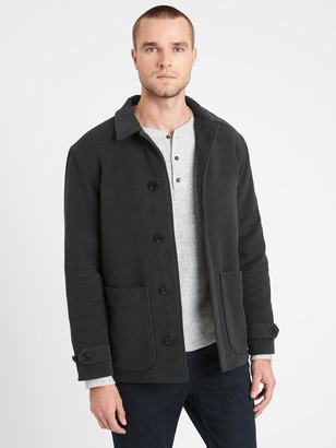 Banana Republic Italian Moleskin Short Coat