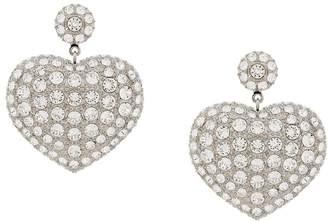 Balenciaga Susi heart earrings