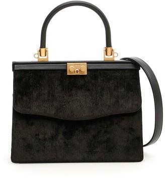 Rodo Velvet And Leather 70 Bag