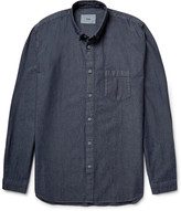 Folk - Button-down Collar Cotton-chambray Shirt