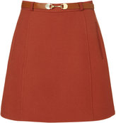 Sixties Belted Skirt