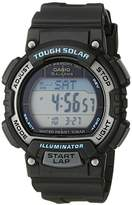 Casio Women's STL-S300H-1ACF Solar Runner Digital Display Quartz Black Watch
