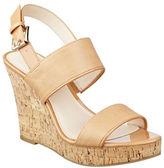 Nine West Lucini Cork Wedge Sandals