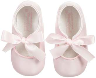 Mayoral Pink Ribbon Pre-Walker-Shoes