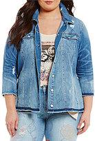 Jessica Simpson Plus Superloved Peri Jacket