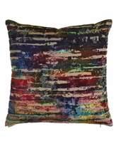 D.V. Kap Home Plum & Multi Stripe Pillows