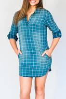 Velvet Heart Checkered Tunic