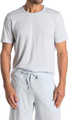 Daniel Buchler Crew Neck Knit T-Shirt