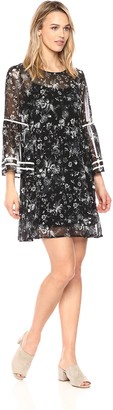 Kensie Women's Fresh Floral Dress