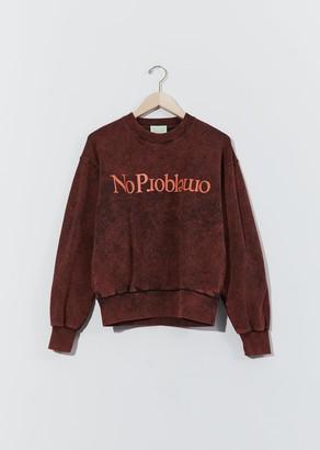 Aries Unisex No Problemo Sweatshirt Red