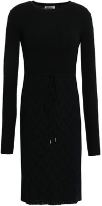Nina Ricci Stretch-lace Mini Dress