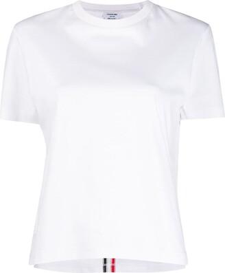 Thom Browne RWB-stripe T-shirt