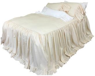 Superior Custom Linens Sundress Linen Ruffle Bedspread, California King 3-Piece Set