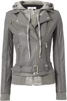 IRO Harper Camo Combo Leather Jacket