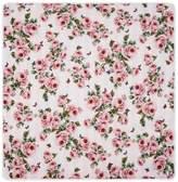 Dolce & Gabbana Cotton Floral Padded Blanket