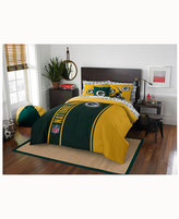 Northwest Company Green Bay Packers 7-Piece Full Bed Set