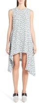 Marni Women's Posy Print Asymmetrical Dress
