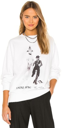 Anine Bing AB x TO DAVID BOWIE Ramona Sweatshirt