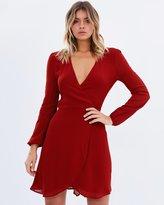 Living Doll Rose Wrap Dress
