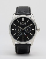 HUGO BOSS Boss By 1513124 Chronograph Leather Strap Watch
