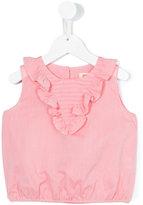 Maan - sleeveless frill top - kids - Cotton - 4 yrs