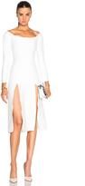 CHRISTOPHER ESBER Owl Shoulderless Dress