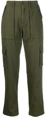Twin-Set embellished cargo trousers