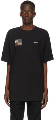 Off-White Black Caravaggio Angel Arrows T-Shirt
