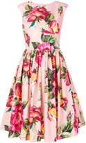 Dolce & Gabbana floral dress - women - Cotton - 42