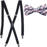Jf J.Ferrar JF Plaid Bow Tie Set