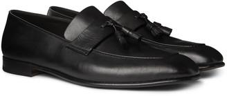 Ermenegildo Zegna Tasselled Leather Loafers