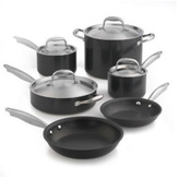 Anolon 10-pc. Nonstick Titanium Hard Anodized Cookware Set