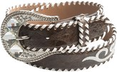 Nocona Whip-Stitched Embroidered Belt - Leather (For Women)