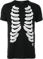 Alexander McQueen ribcage print T-shirt - men - Cotton - XL