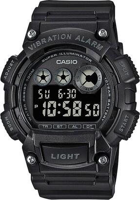 Casio Men's Digital Quartz Watch with Plastic Strap W-735H-1BVEF