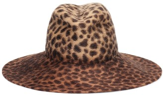 Lola Hats Exclusive to Mytheresa Biba leopard-print felt hat