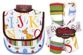 Trend Lab 30505 Bouquet Set - Dr. Seuss Abc - Bib and Burp Cloth