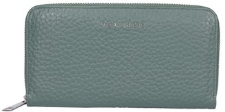 Orciani Soft Zip Around Wallet