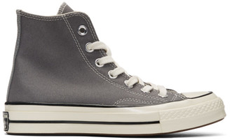 Converse Grey Chuck 70 High Sneakers