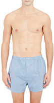 Barneys New York MEN'S CHECKED BOXERS