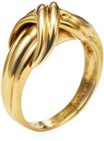 Tiffany & Co. Women's Vintage 18K Yellow Gold X Ring