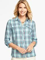 Talbots The Classic Everyday Shirt - Mixed Plaid